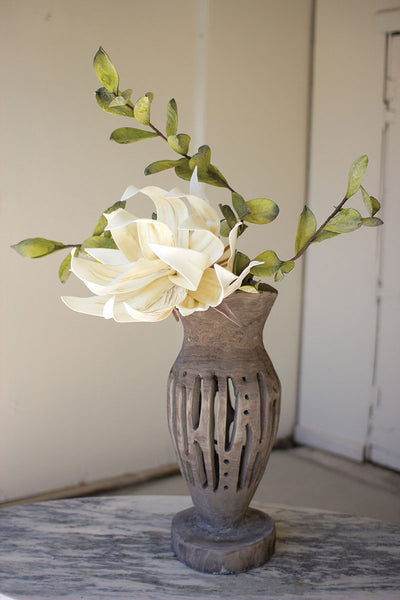 Wooden Bottle Vases