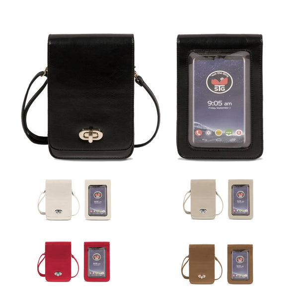 Save the Girls Touchscreen Purse-Classic Elegance