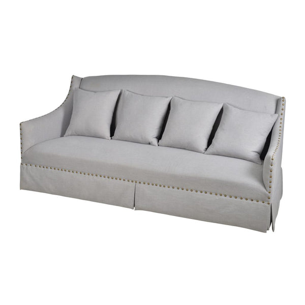 A&B Home Gray Sofa