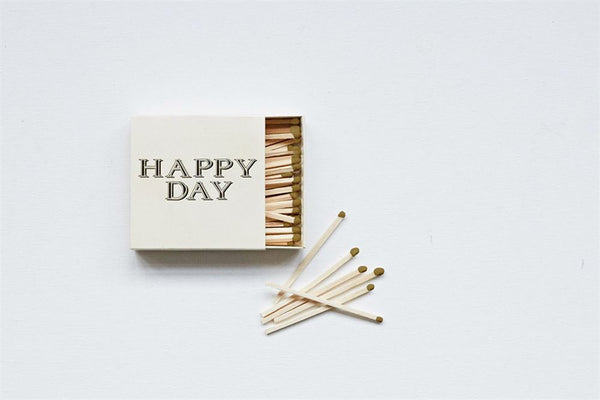 """Happy Day"" Safety Matches"