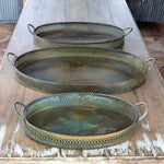 Patina serving Trays