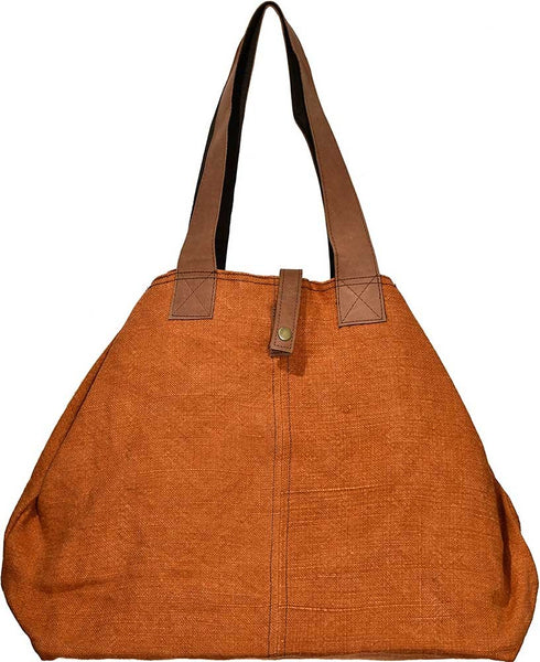 Permisson Jute Shoulder Bag