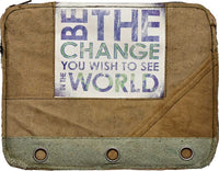 """Be the Change"" Laptop Sleeve"