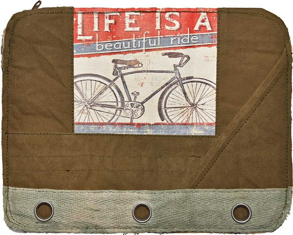 """Life is a Beautiful Ride"" Laptop Sleeve"