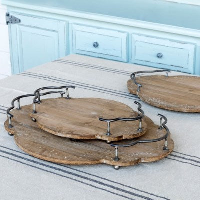 Wooden Bistro Trays
