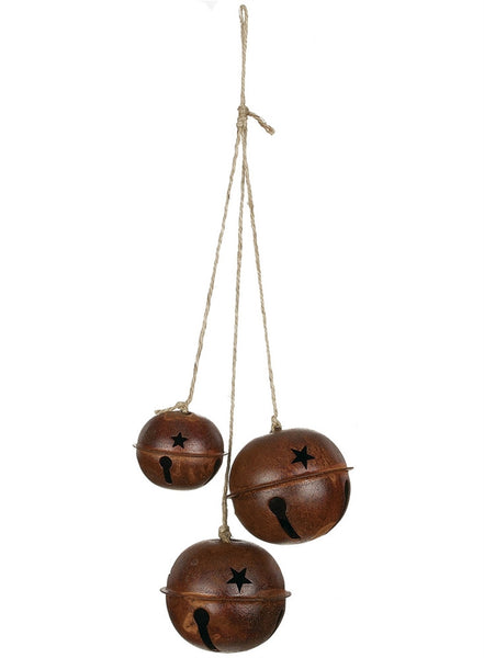 Bronze Jingle Balls SET OF 3