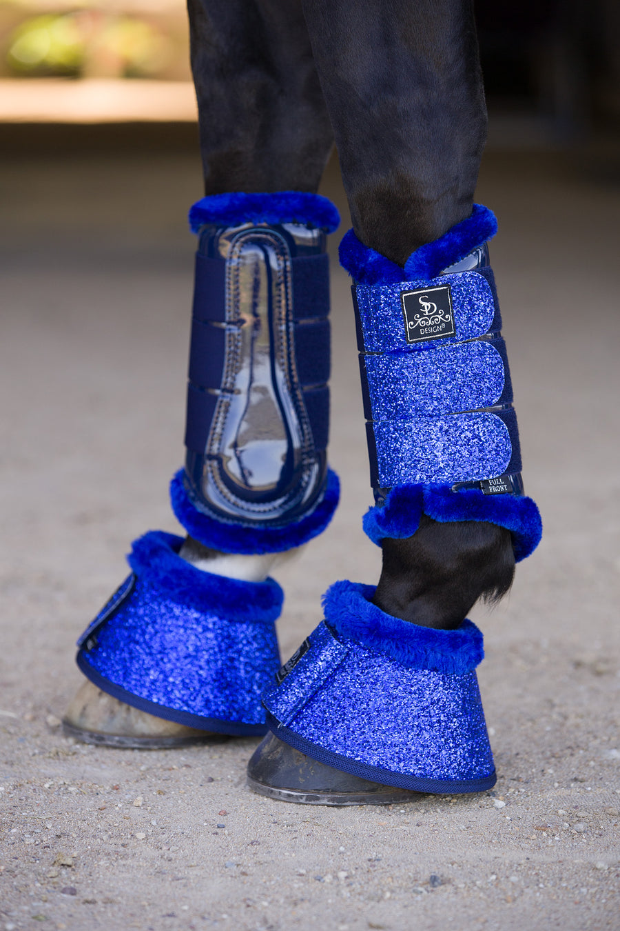 SD Design Glitter Tendon Boots