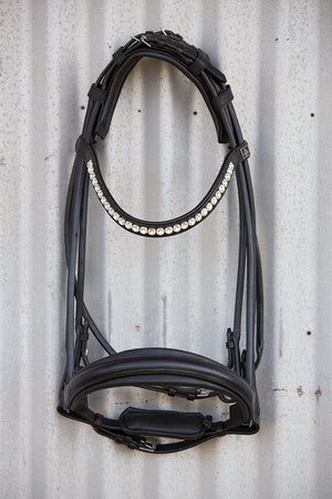 SD Design Belissimo Rolled Double Bridle