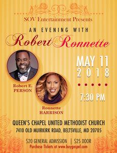An Evening With Robert and Ronnette