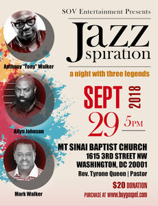 JAZZspiration-A Night With Three Legends