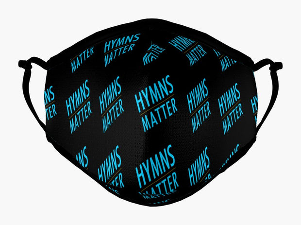 Hymns Matter Cotton Mask (Black)