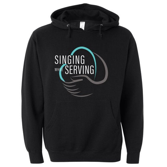 Singing While Serving Hoodie