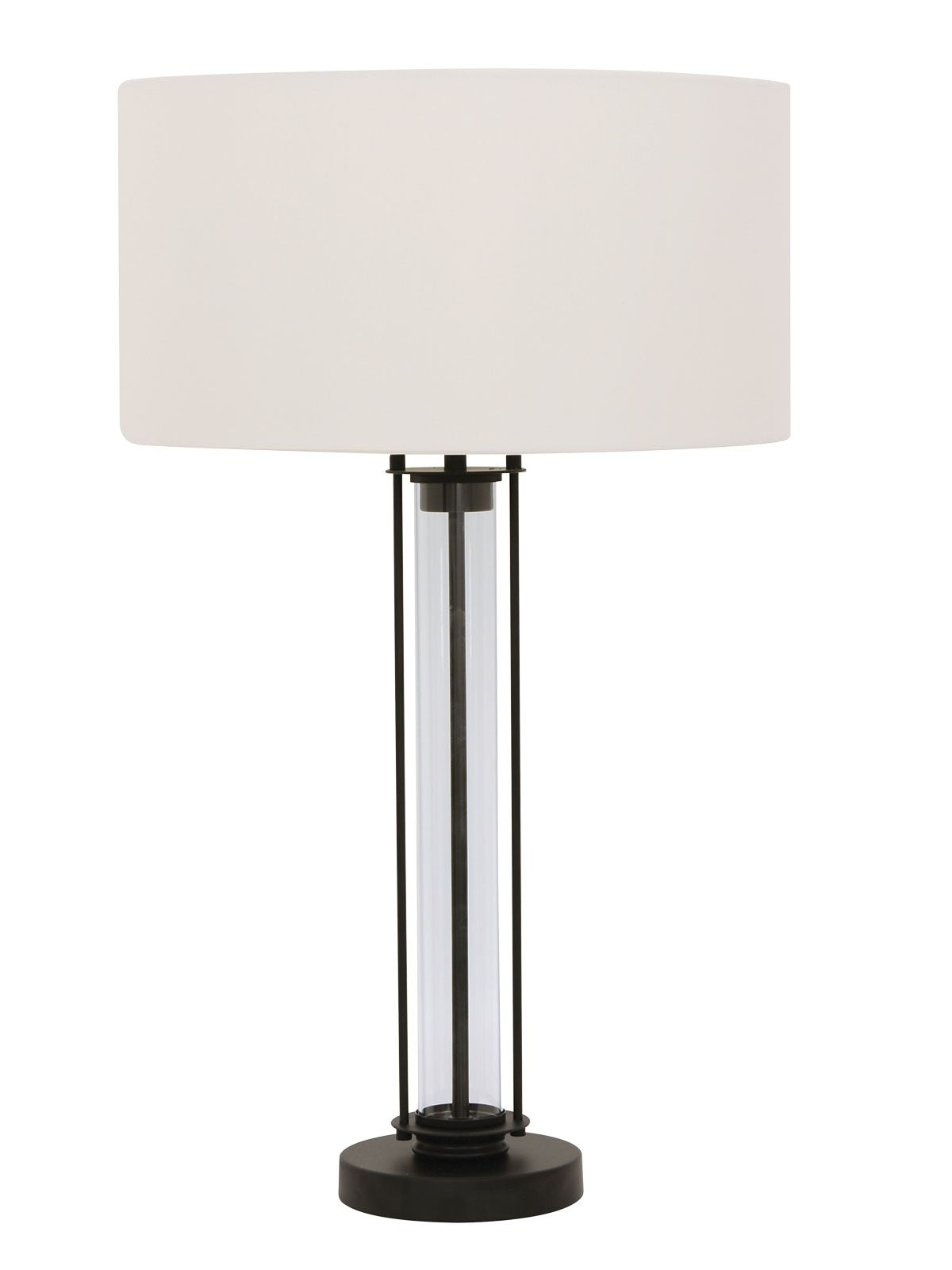 Iris 1 light table lamp in blackglasswhite pendant glow iris 1 light table lamp in blackglasswhite aloadofball Gallery