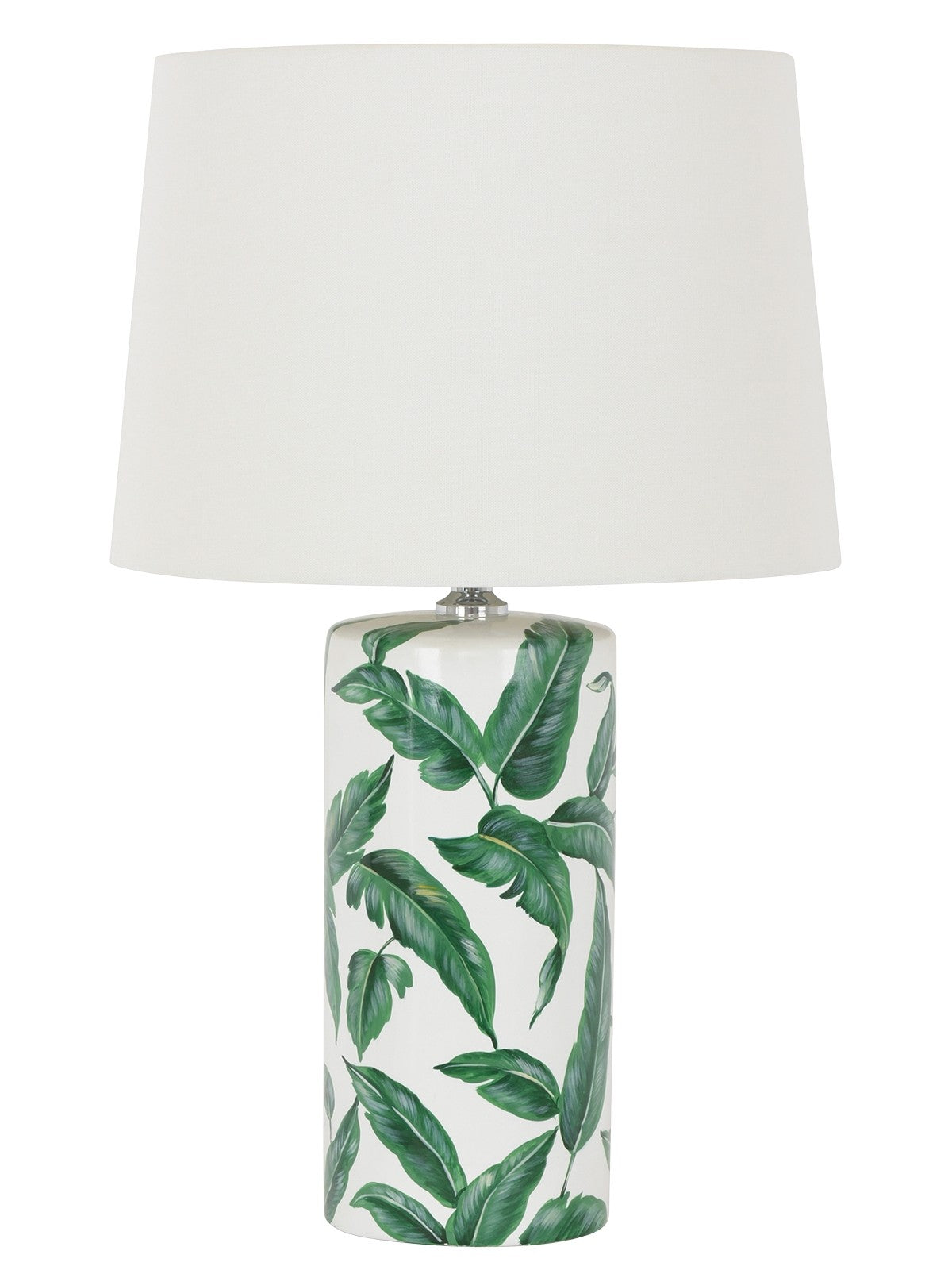 Botanic 1 light round table lamp in whitegreen pendant glow botanic 1 light round table lamp in whitegreen aloadofball Image collections