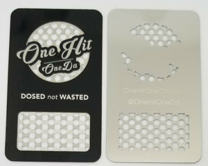 Steel GrinDa Card Portable Grinder For CBD