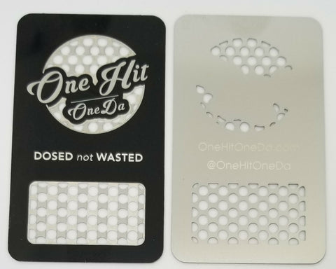 Image of Steel GrinDa Card Portable Grinder For CBD