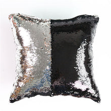 Mermaid Sequin Sparkle Cushion Cover That Changes Color!