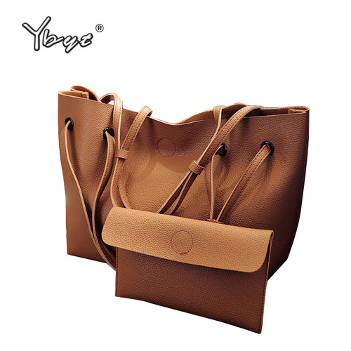 Large Capacity Tote with Bonus Mini Purse - Vegan Friendly