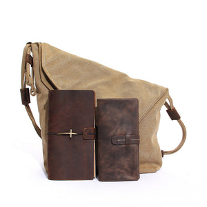 Casual Canvas Shoulder Bag