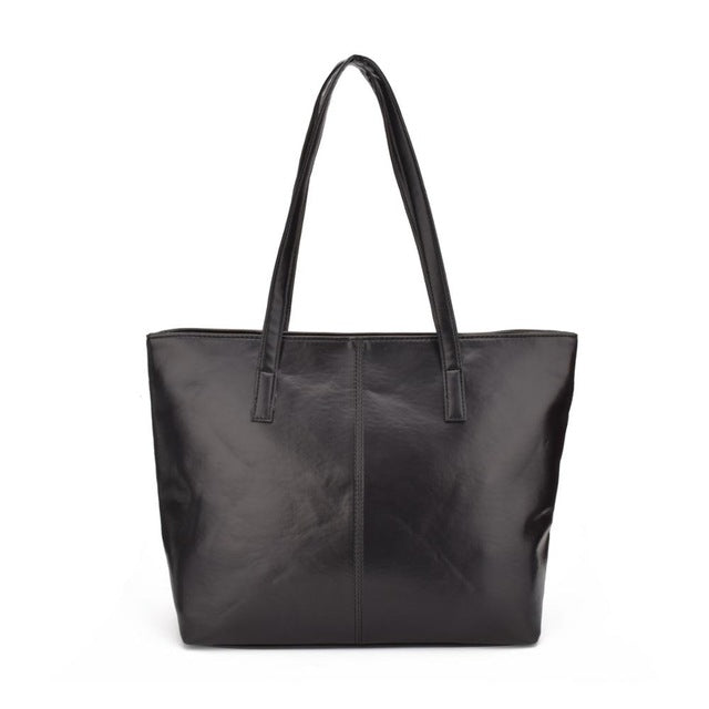 Large Capacity Shoulder PU Leather (Vegan Friendly)