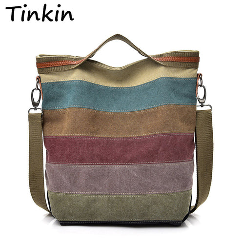 Fun Women Canvas Shoulder Bag