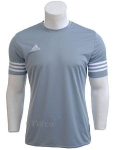 Mens Adidas Climalite Crew Training Gym Football T-shirt Top Size S M L Xl 2xl Pretty And Colorful Men's Clothing Activewear