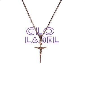 trendy goldfilled cross necklace