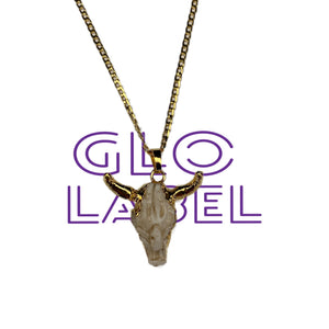 Long Horn GoldFilled Chain