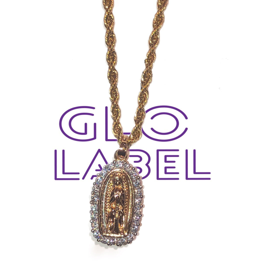 Virgen Rope Chain
