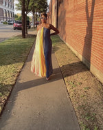 Multi-Color Whimsical | Maxi Dress