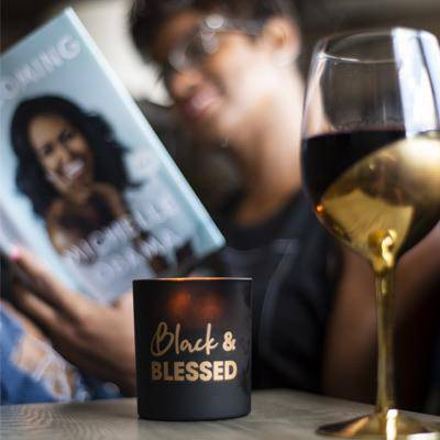 Black & Blessed | Candle - My Kava Boutique