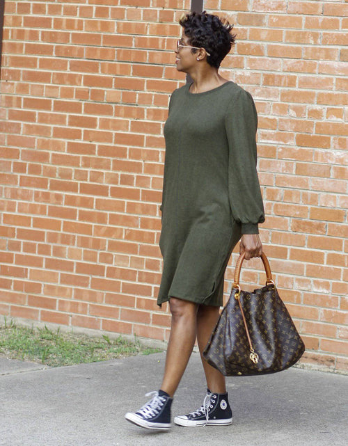 Green Casual | Dress - My Kava Boutique