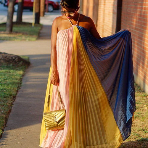 Multi-Color Whimsical | Maxi Dress - My Kava Boutique