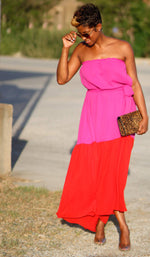 Tube Top | Maxi Dress (+ colors) - My Kava Boutique