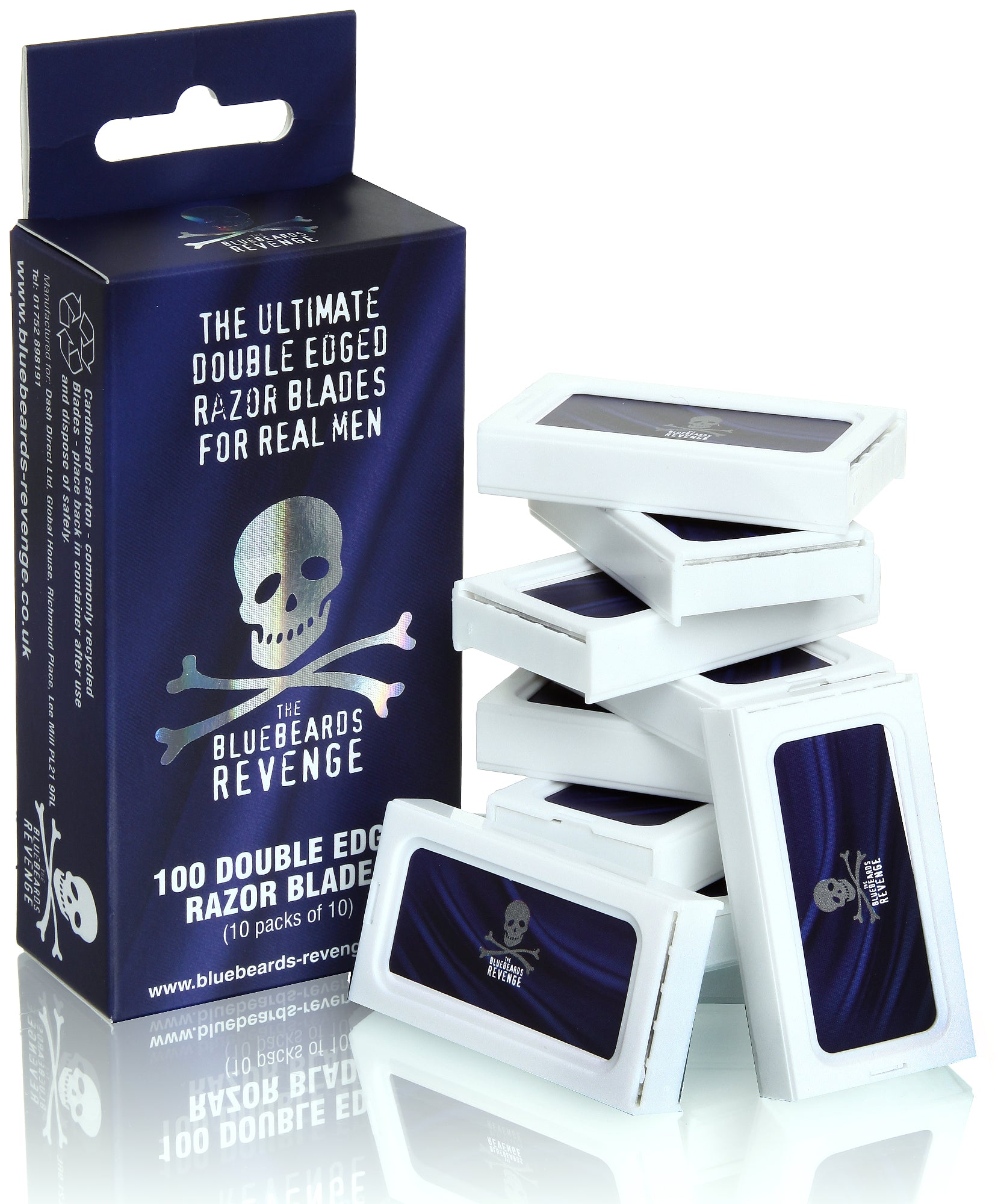 THE BLUEBEARDS REVENGE REPUESTOS DOBLE HOJA-100