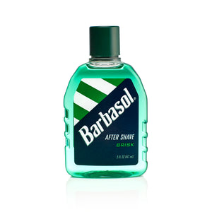BARBASOL AFTER SHAVE BRISK