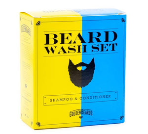 GOLDEN BEARDS SET SHAMPOO Y ACONDICIONADOR ORGÁNICOS PARA BARBA