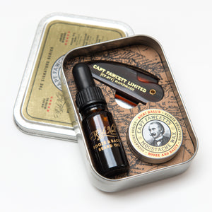 CAPTAIN FAWCETT'S KIT DE SUPERVIVENCIA PARA BARBA Y BIGOTES