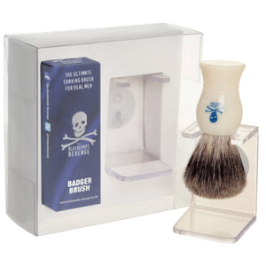 THE BLUEBEARDS SET CON SOPORTE Y BROCHA DE AFEITAR