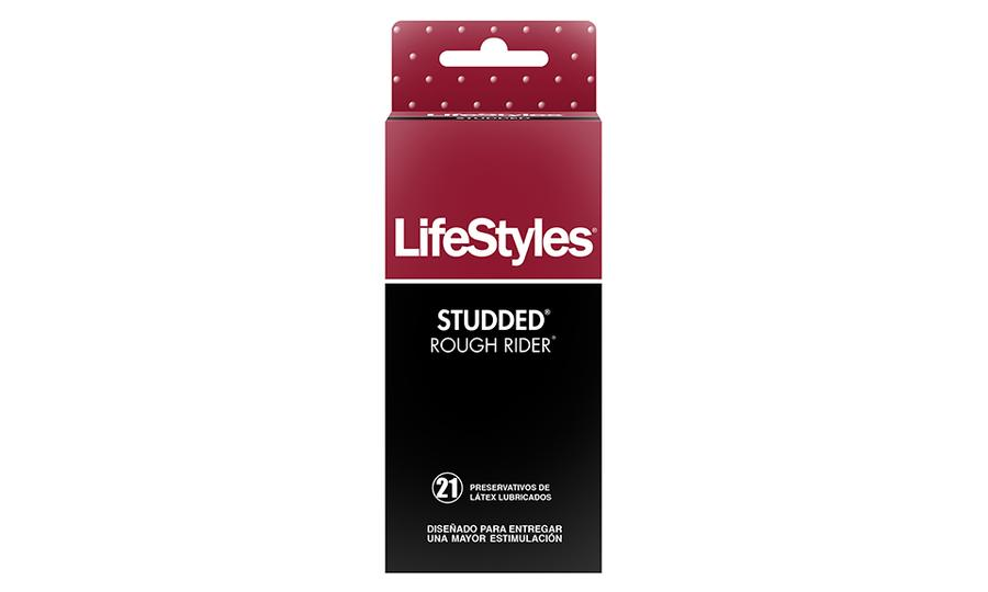 LIFESTYLES STUDDED ROUGH RIDER-21 UNIDADES