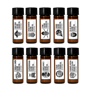 GRAVE BEFORE SHAVE MOSTRARIO 10 ACEITES