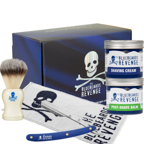 THE BLUEBEARDS REVENGE SET BARBERO CON NAVAJA CLASICA