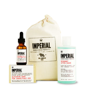 IMPERIAL KIT DE AFEITADO