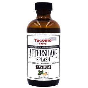 TACONIC AFTER SHAVE SPLASH  BAY RUM