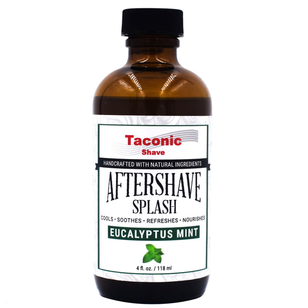 TACONIC SHAVE SET DELUXE-MENTA EUCALYPTUS