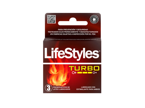 LIFESTYLES TURBO - 3 UNIDADES