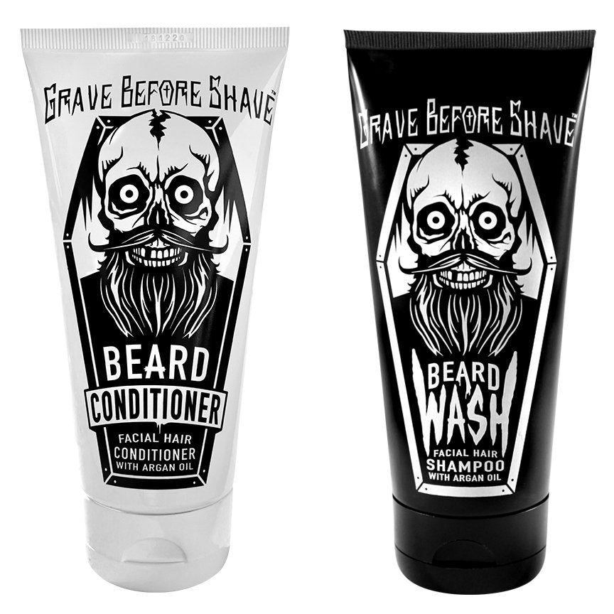 GRAVE BEFORE SHAVE SET SHAMPOO-ACONDICIONADOR PARA BARBA