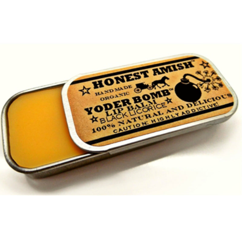 HONEST AMISH LIP BALM -  REGALIZ
