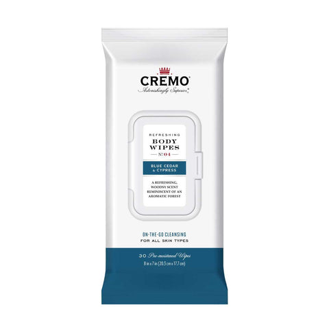 CREMO BODY WIPES-Blue Cedar & Cypress