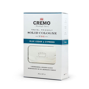 CREMO COLONIA SOLIDA-Blue Cedar & Cypress